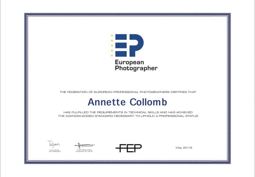 Award FEP European Photographer AC-Fotografie