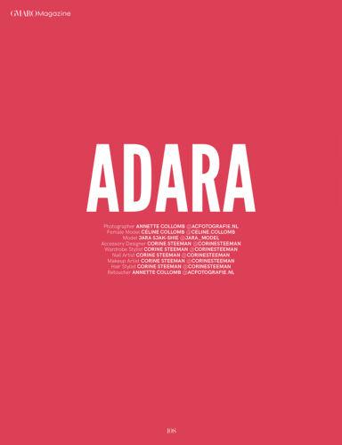 Fashion editorial Gmaro ac-fotografie Adara